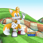 Character wallpaper tails