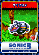 Sonic the Hedgehog 3 - 01 Rhinobot