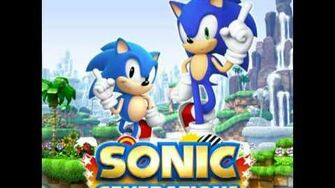 Sonic Generations Original Soundtrack - Main Hub ( Green Hill Zone )-1