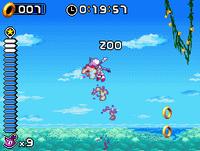 Sonic Rush Axel Tornado