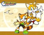 Sonic Rush Adventure Wallpaper 03 a