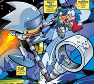 Silver Sonic Archie Prototype