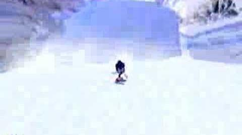 Sonic Adventure Icecap (Dreamcast)