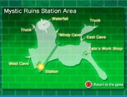 Mystic Ruins Karte