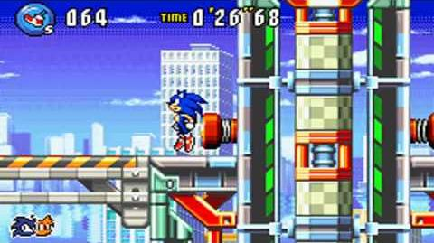 Sonic Advance 3 Route 99 Act 1 HD Test