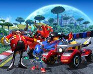 Team Sonic Racing Team Eggman