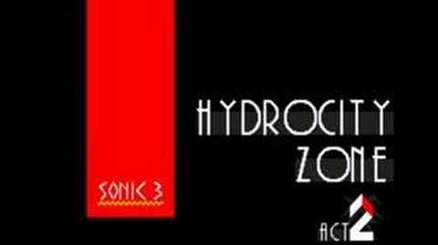 Sonic 3 Music Hydrocity Zone Act 2