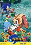 Sonic X Volume 6 Japanisch Vorderseite