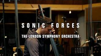 Behind the Scenes Sonic Forces Orchestra Theme