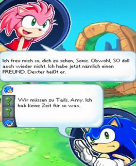 Amy, Sonic Dexter