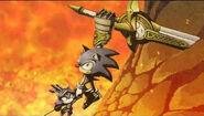 Sonic rettet Sir Percival