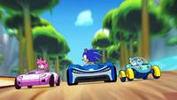 Team Sonic Racing Overdrive - 01 - Sonic wird von Amy und Chaos überholt