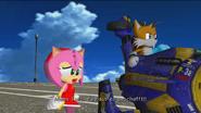 Amy und Tails