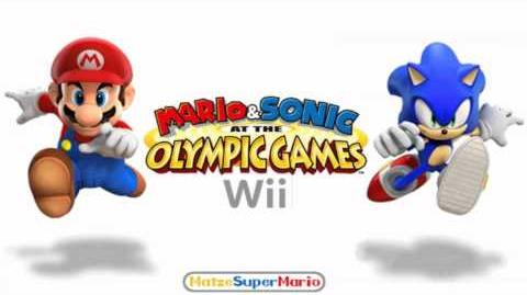 Mario & Sonic at the Olympic Games (Wii) Music - Let the Speed Mend It (Instrumental)