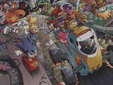 Auflistung der Comic Charaktere