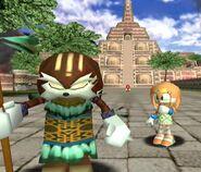 Tikal & ihr Vater Pachacamac