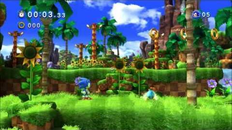 Sonic Generations Green Hill Zone Classic Remix