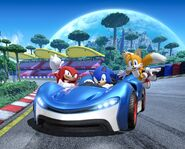 Team Sonic Racing Team Sonic