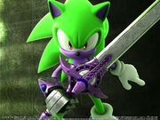Wallpaper sonic and the black knight 04