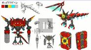Egg Dragoon Sonic Generations concept artwork