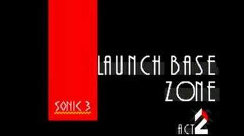 Sonic 3 Music Launch Base Zone Act 2