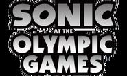 Sonic bei den Olympischen Spielen - Vorläufiges Logo