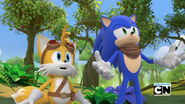 Sonic boom tv tails and sonic