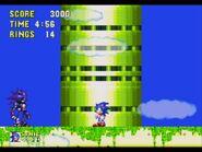 Mecha Sonic vs Sonic