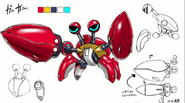 Crabmeat Concept Artwork