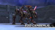 Egg-Cerberus Boss intro White Acropolis