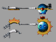 Concept Artwork Globotron