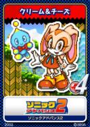 Sonic Advance 2 - 11 Cream & Cheese