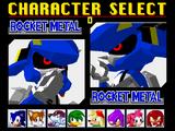 Rocket Metal Sonic