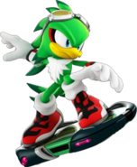 Sonic-Free-Riders-Jet-artwork