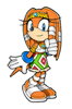 Super Smash Bros. Brawl Sticker Tikal (Sonic Adventure Director's Cut)