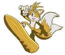 Tails pose 44