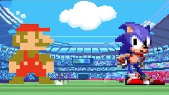 Mario & Sonic at the Olympic Games Tokyo 2020 Classic 2D Events Reveal Trailer