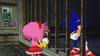 Sonic und Amy Prison Island