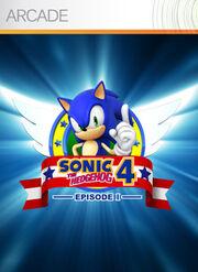 Xbox Sonic 4 box