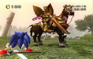 Sonic & the Black Knight King Arthur (Misty Lake)