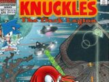 Knuckles the Echidna Comic
