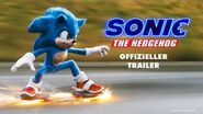 SONIC THE HEDGEHOG OFFIZIELLER TRAILER Paramount Pictures Germany