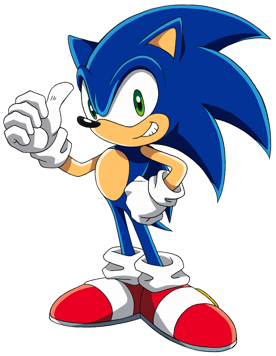 It is an image of Selective Sonic the Hedghog Images