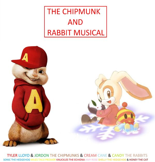 The Chipmunk And Rabbit Musical Poster