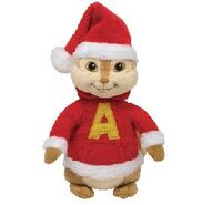 Alvin red holiday outfit 11451