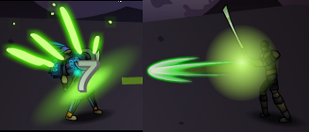 Poison Animation Ghost Assassin Sonny 1 2