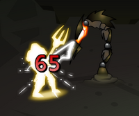 Leading Strike Animation Fire Claw Sonny 2 1