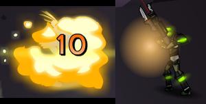 Explosion Animation ZPCI Hunter Sonny 1 2