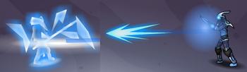 Shatter Bolt Frost Terror