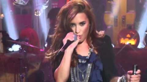 Sonny With A Chance - Demi Lovato - Work of Art - Music Video - So Random Halloween Special